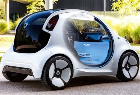 vision eq fortwo concept  newcar