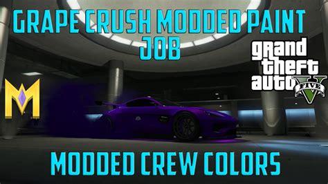 gta 5 crew colors gta 5 modded crew colors new grape crush modded