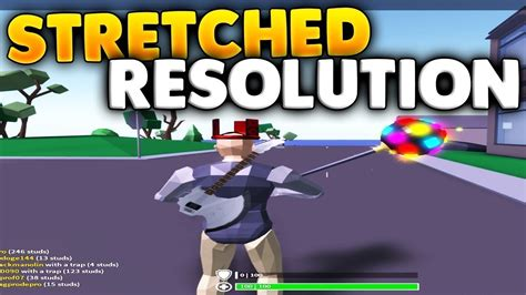 stretched resolution  strucid roblox fortnite