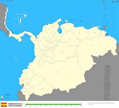 Colombia Territorial Historia Wikipedia 1810 Desde Cambios