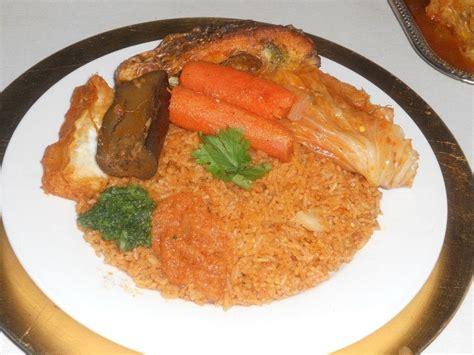 recette riz cuisiné recette de cuisine thiebou dieune riz au poisson h