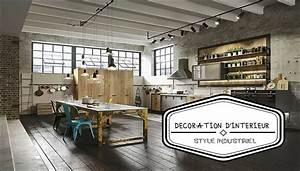 Interieur Style Industriel : d coration d 39 int rieur le style industriel ~ Melissatoandfro.com Idées de Décoration