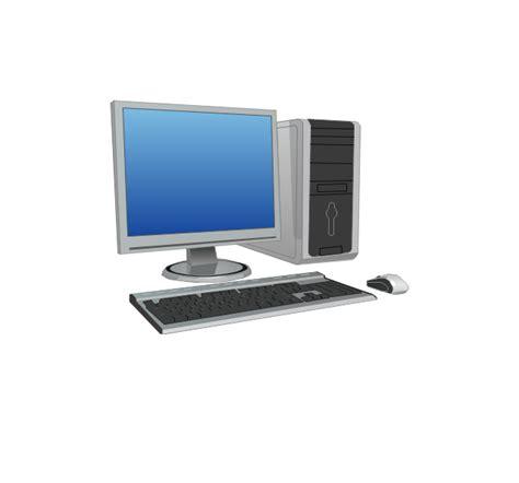 Vector Image Desktop by Computer Network Vector Stencils Library