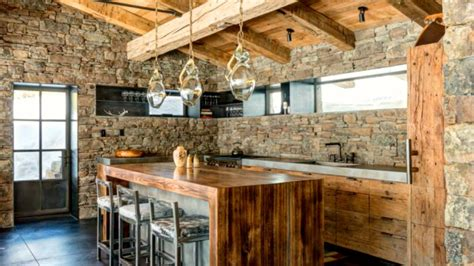40 Rustic Kitchen Wood Design Ideas 2017  Amazing Kitchen
