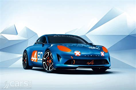 renault alpine concept renault alpine celebration concept arrives at le mans