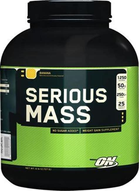 Serious Mass Weight Gainer by Optimum Nutrition - Protein