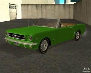 Ford Mustang 1964 : ford mustang 289 1964 for gta san andreas ~ Medecine-chirurgie-esthetiques.com Avis de Voitures
