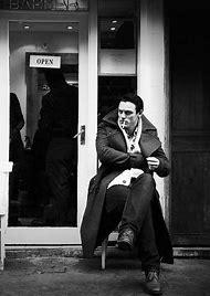 Luke Evans Black and White