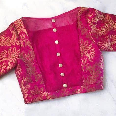 elegant  graceful blouse designs artsycraftsydad
