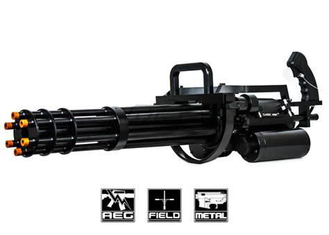 Classic Army M134-a2 Minigun Airsoft Gun ( Black