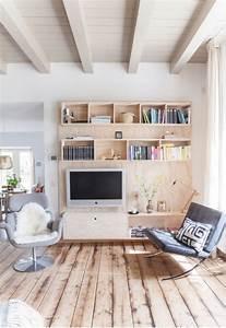le pouvoir du bois madere unites de divertissement et With meuble pour separation de piece 4 comment choisir son meuble tv