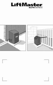 Liftmaster Elite Series Garage Door Opener User S Guide