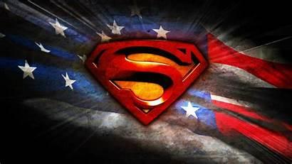 Superman Flag American Cool Wallpapers Desktop Alex