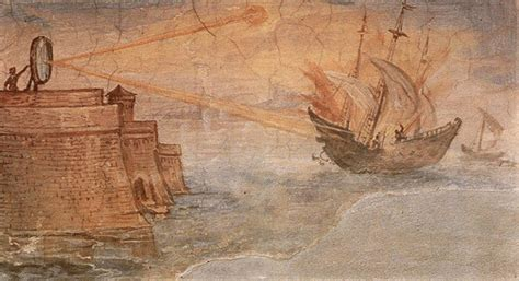 siege sushi shop how archimedes burned those ships mirror or steam