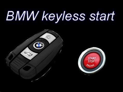 start  bmw    key youtube