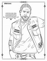 Coloring Pages Adult Male Printable Print Getcolorings Sheknows sketch template