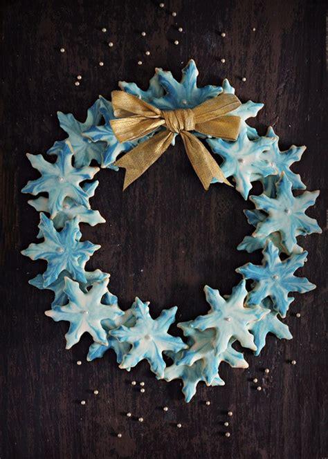 crisp marble glazed snowflake cookies  diverse kitchen  vegetarian blog