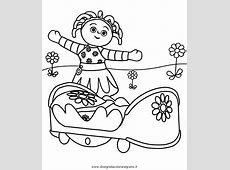 Upsy Daisy Free Colouring Pages