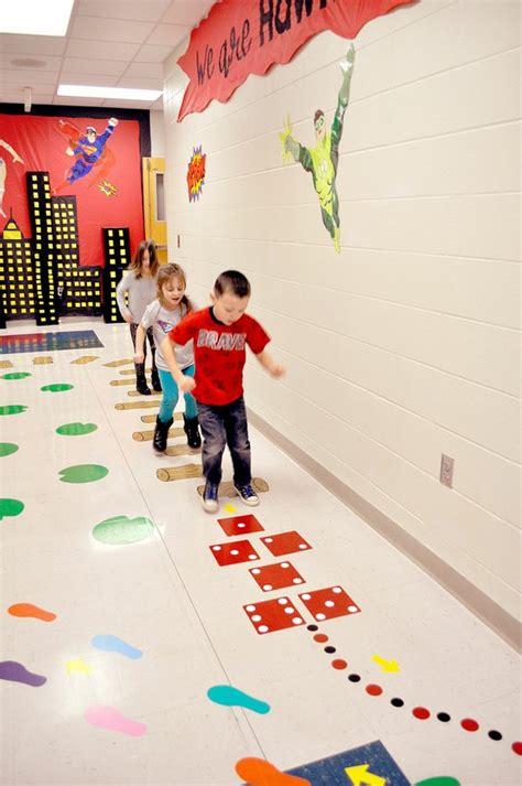 pineville primary   sensory hallway