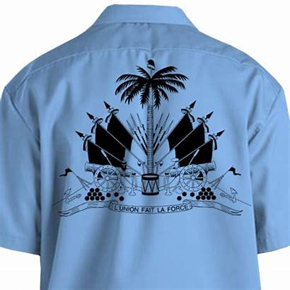 Haiti Shirt Dickies Ayiti Arms Silk Coat