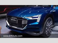 Audi etron Quattro full electric SUV BEV battery