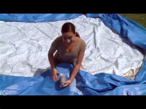 bestway pool rechteckig aufbauanleitung splash play fast set pool bestway