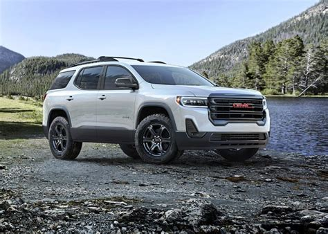 gmc acadia denali features cost  suv update