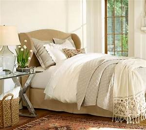 crochet knit trim throw pottery barn With bed comforters pottery barn