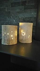 Teelichter Selber Machen : ton t pfern windlicht selbstgemacht pinterest ~ Lizthompson.info Haus und Dekorationen