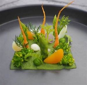 (fancy salad presentation) | plating | Art alimentaire ...