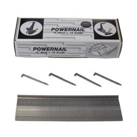 home depot flooring nails powernail 2 in x 16 gauge powercleats hardwood flooring nails 1 000 count l 200 16 the home