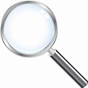 Magnifying Glass Vector PNG   PNG Mart