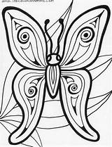 Coloring Butterfly Pages Printable Adults Animals Adult Rainforest Abstract Print Cute Books Mandala Sheets Flower Animal Preschool Barn Templates Printables sketch template