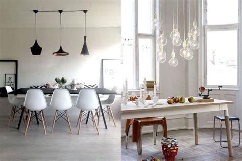 diferentes soluciones  lamparas de techo de comedor