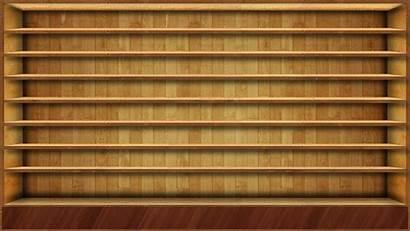 Shelf Bookshelf Desktop Empty Background Backgrounds Wallpapers