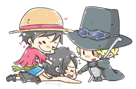 Asl Brothers Monkey D. Luffy, Portgas D. Ace, And Sabo One
