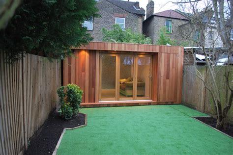 contemporary garden sheds uk