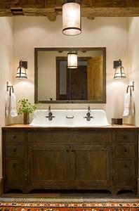 35, Best, Rustic, Bathroom, Vanity, Ideas, And, Designs, For, 2020