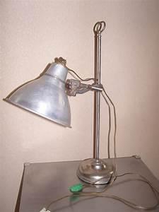 Lampe De Bureau QuotCremerquot Annes 50
