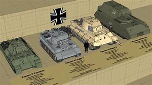 Ww2 Size Chart Ww2 German Tank Type And Size Comparison 3d Youtube