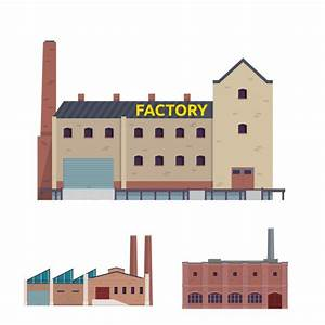 Modern Industrial Factory and Warehouse Logistic Building ...