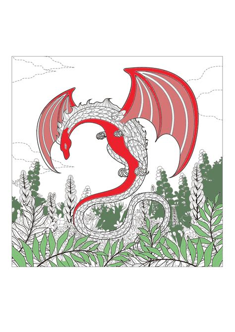 myths legends coloring pages  adults justcolor