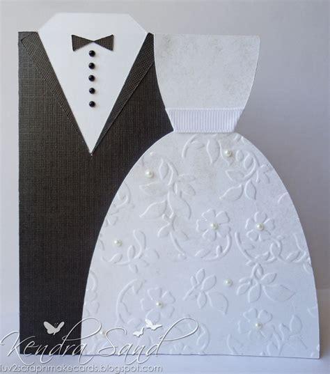 Luv 2 Scrap N' Make Cards Wedding Card