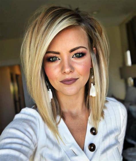 trending hairstyles  cute medium length hairstyles