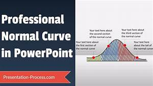 How To Draw A Normal Curve In Powerpoint  Powerpoint Diagram Series