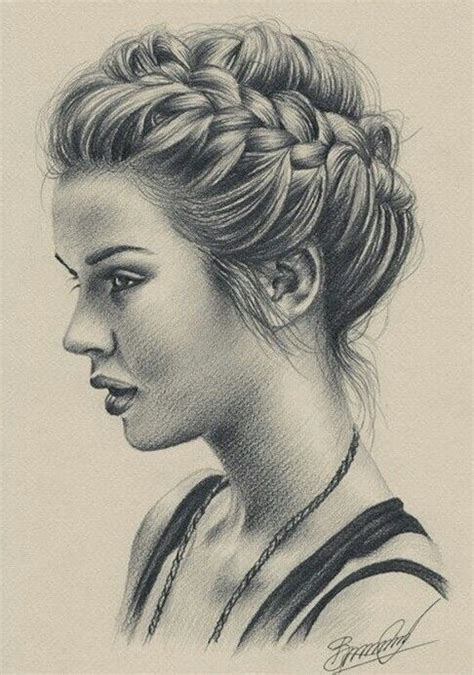 weheartitcom amazing girl drawing specially hair
