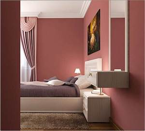 Altrosa bedroom decor ideas for color combinations as for Schlafzimmer wandfarben