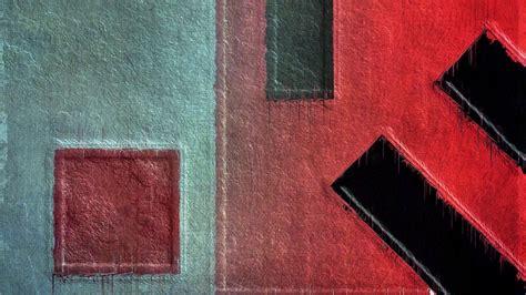 digital art abstract minimalism geometry painting