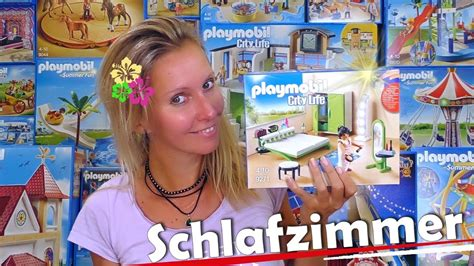 Playmobil 🛏 Modernes Schlafzimmer 9271 Unboxing City Life