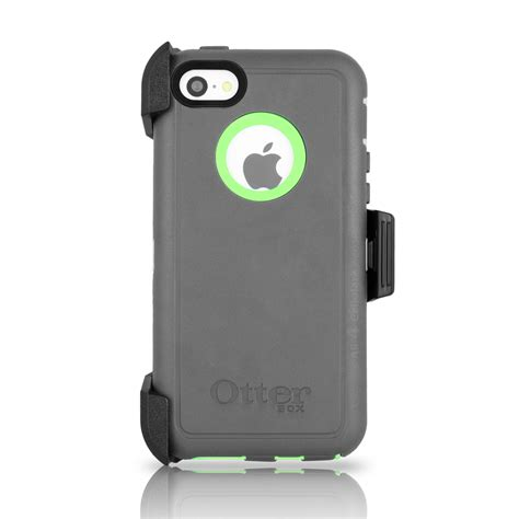 iphone 5c cases otterbox otterbox defender iphone 5c holster cucumber gray